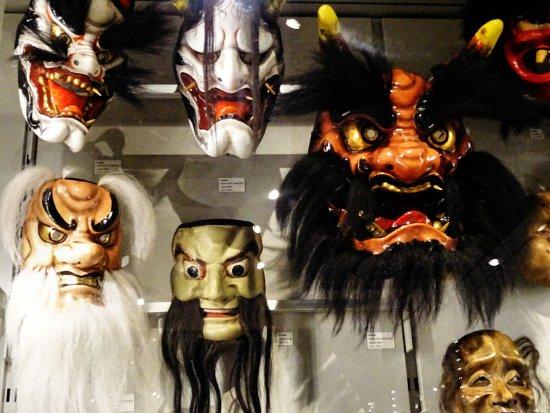 Chinese opera masks - Museum of Anthropology UBC