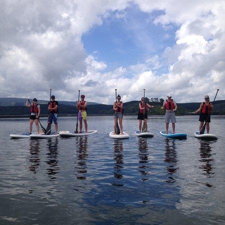 Rotorua Paddle Tours: Teamwork!
