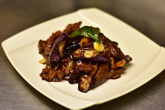 Ridgefield, CT: Eggplant in Garlic Sauce