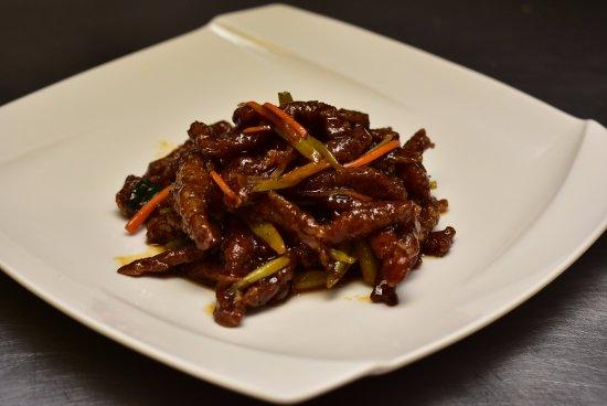 Ridgefield, CT: Szechuan Crispy Shredded Beef