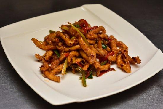 Ridgefield, CT: Szechuan Peppercorn Crispy Chicken