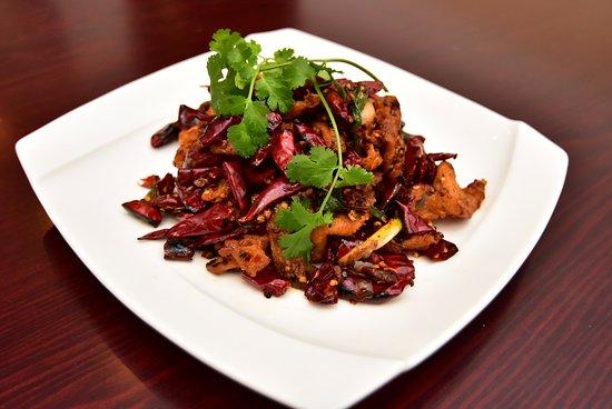 Ridgefield, CT: Szechuan Style Spicy Chicken