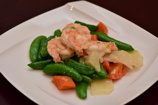 Ridgefield, CT: Shrimp Sugar Snap Pea