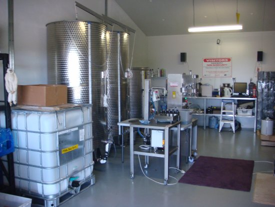 Karrabool Store & Coffee Shop: Olive oil production equipment