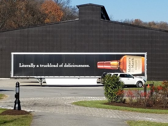 Loretto, KY: Interesting truck graphic