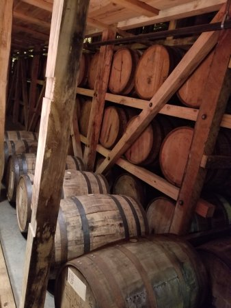 Loretto, KY: Barrels of bourbon