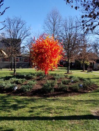 Loretto, KY: Part of the Chihuly exhibit