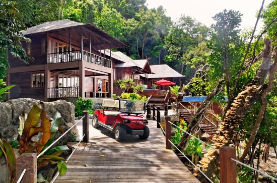 Bunga Raya Island Resort: Guest room