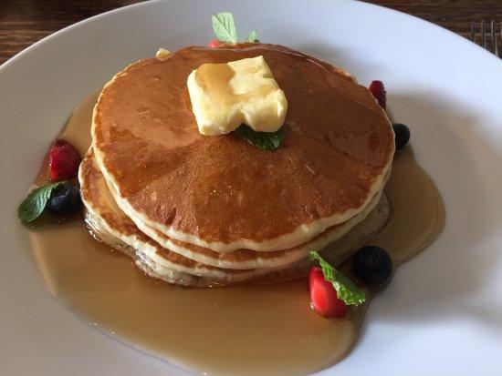 Good Morning Sunday Yummy Warm Pancakes And Good Coffee To Start
