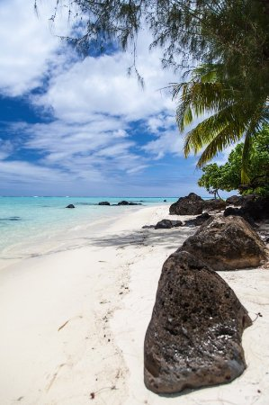Pacific Resort Aitutaki: Beach