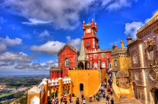 Sintra and Cabo da Roca with Pena...