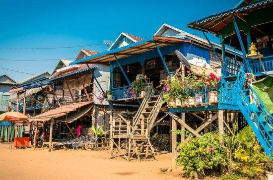 Mitad de día Kompong Phluk, Tonle Sap...