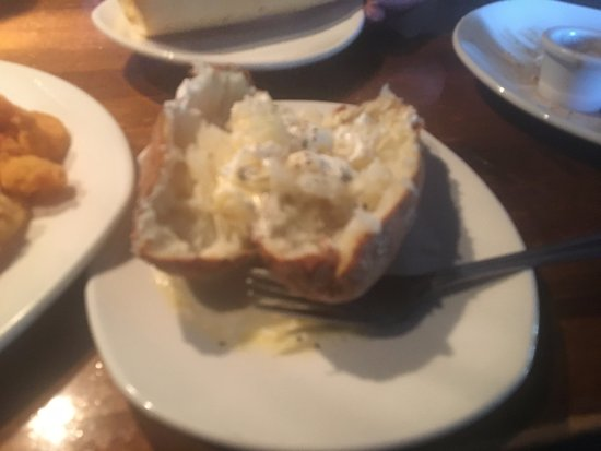 Homewood, AL: The extra baked potato I ordered that I didn't need.