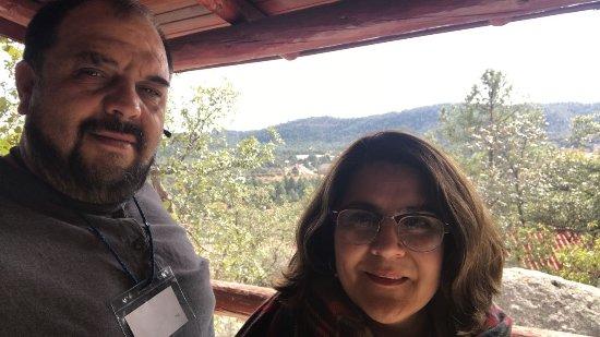 Urique, Mexico: afuera de la habitacion