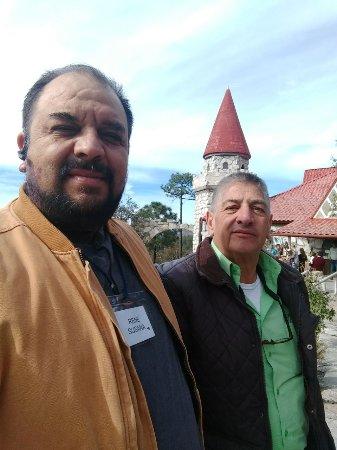 Urique, Mexico: afuera del lobby
