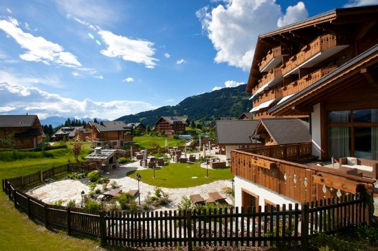 Villars-sur-Ollon, Sveits: Exterior