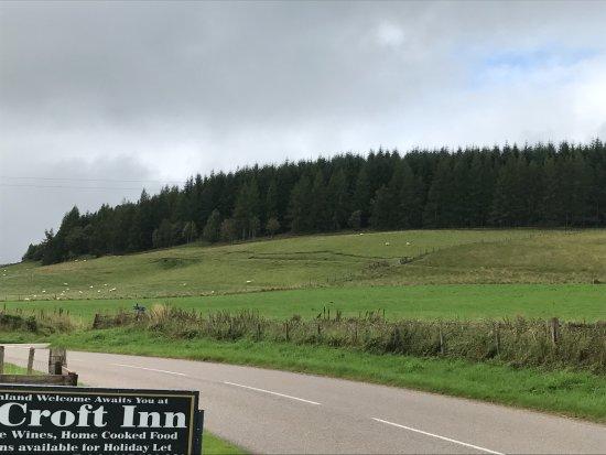 Glenlivet, UK: Gorgeous views