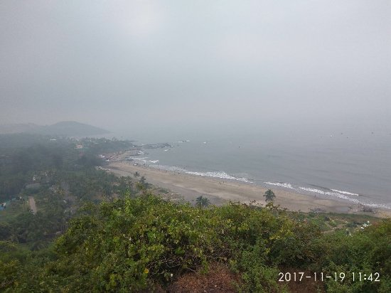 Chapora, Indien: Views from the fort and adjoining hill