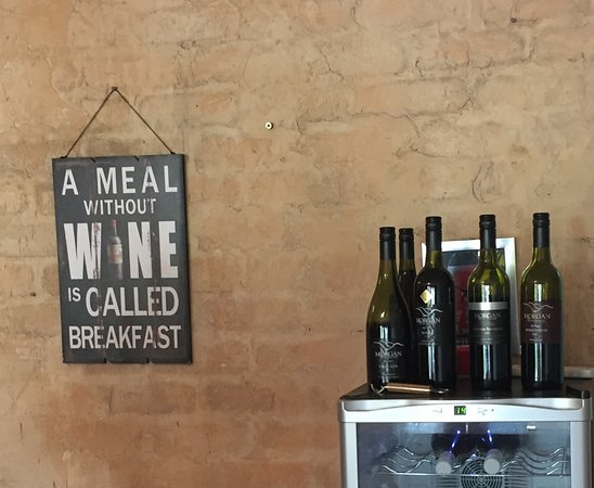 Croydon, Australia: A meal without wine is called breakfast