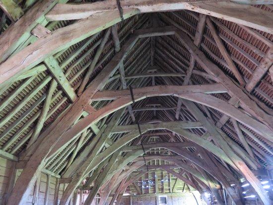 Leigh Sinton, UK: Leigh Court Barn roof
