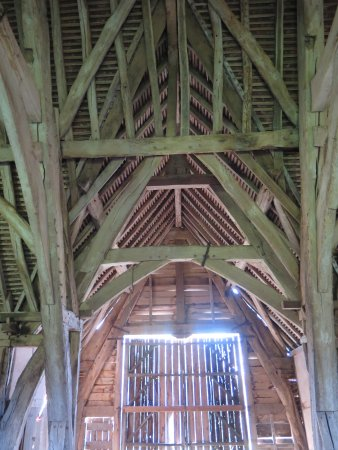 Leigh Sinton, UK: Barn interior