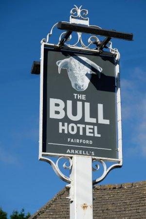 The Bull Hotel: The Bull sign
