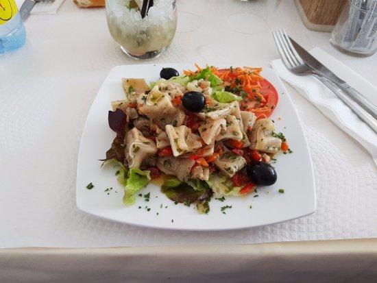 Igny, Fransa: Salade d'oreille de porc
