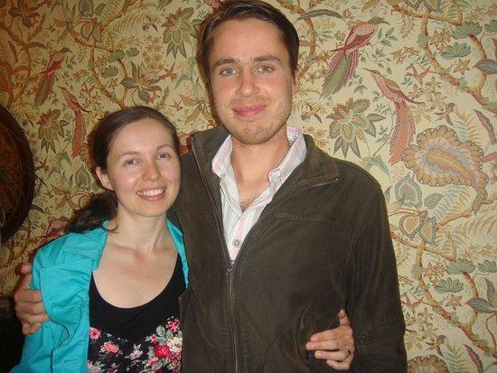 Mel and Tom who run Mount Royal
