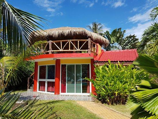 bungalow mit privater dachterrasse billede af palm beach resort ko mak tripadvisor. Black Bedroom Furniture Sets. Home Design Ideas