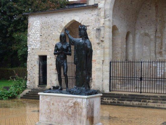Le Baptême De Clovis Foto De Abbey Of Saint Remi Reims Tripadvisor