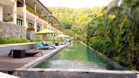 Kebun Villas & Resort: long distance pool