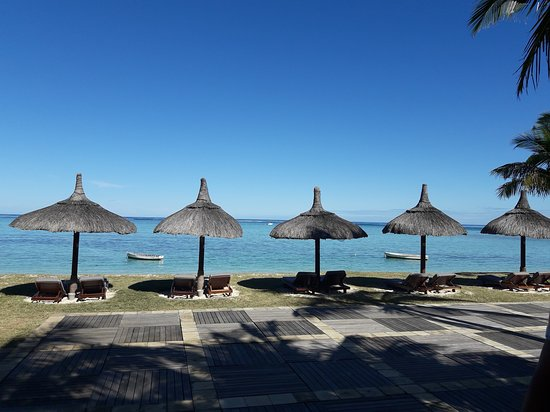 Dinarobin Beachcomber Golf Resort & Spa: Plage