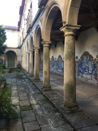 Mosteiro de São Martinho de Tibães: Um dos jardins internos