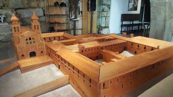 Mosteiro de São Martinho de Tibães: Maquete do Mosteiro