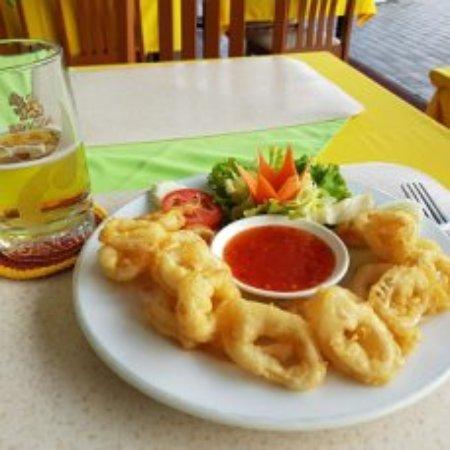 The Sweet Restaurant: Кольца кальмара с пивом