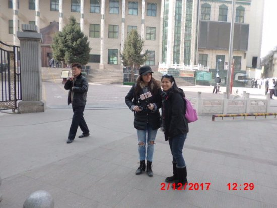 Xining, China: Outside
