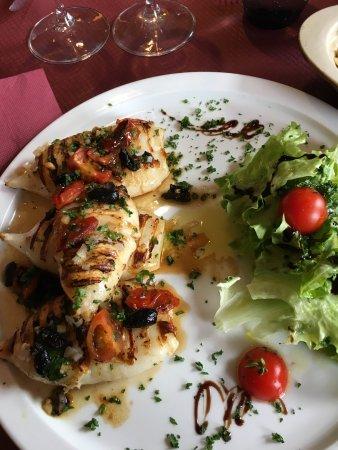 Calamars grillés - Picture of Il Girasole, Strasbourg - TripAdvisor