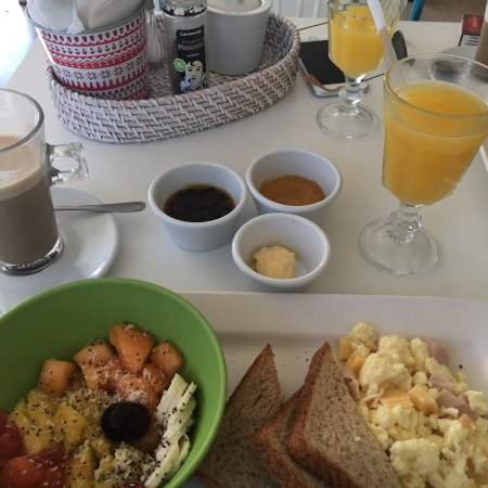 Perfekt! Super leckeres Frühstück und Popsicles!