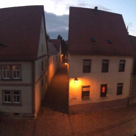 Querfurt, Jerman: Zauberhafter Blick aus dem Zimmer 206