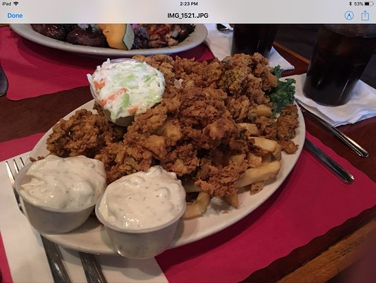 North Easton, MA: Fried clam plate. AWESOME!