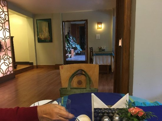 The Habitat Shillong : Dining area with 2 small dining room