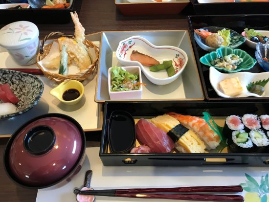 Chita, Japan: 梅心寿司弁当