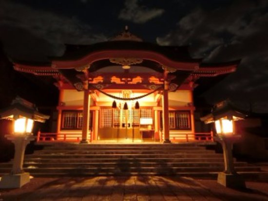 Kuriyama-cho, Japonia: 社殿の様子