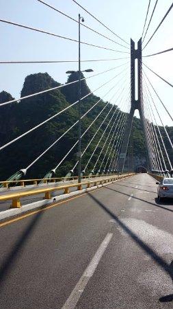 Baluarte Bridge: Sobre el puente