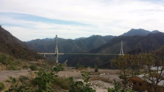 Baluarte Bridge: esta es la vista mas cercana desde el lado de Durango