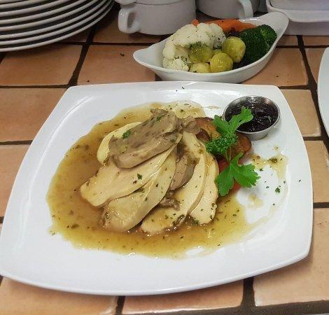 The Failford Inn: Turkey from our Xmas menu
