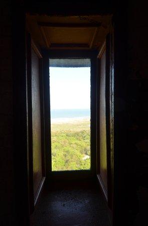 Cape Hatteras Lighthouse: una finestra verso la cima