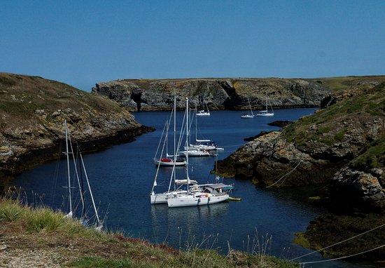 Sauzon, Francia: Le petit port naturel de Ster Ouen