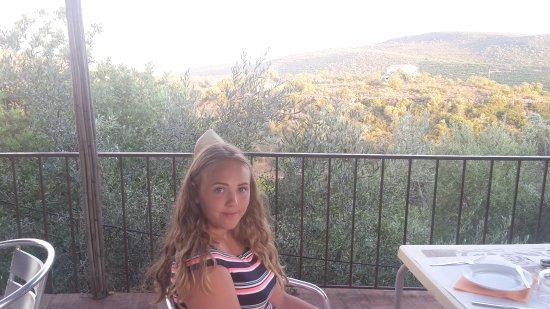 Alte, Portekiz: The view is breathtaking