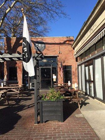 Cru Cafe: Entrance To Tru Cafe